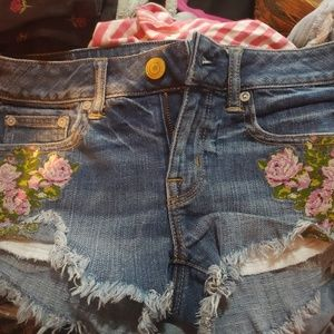 American Eagle Embroidered